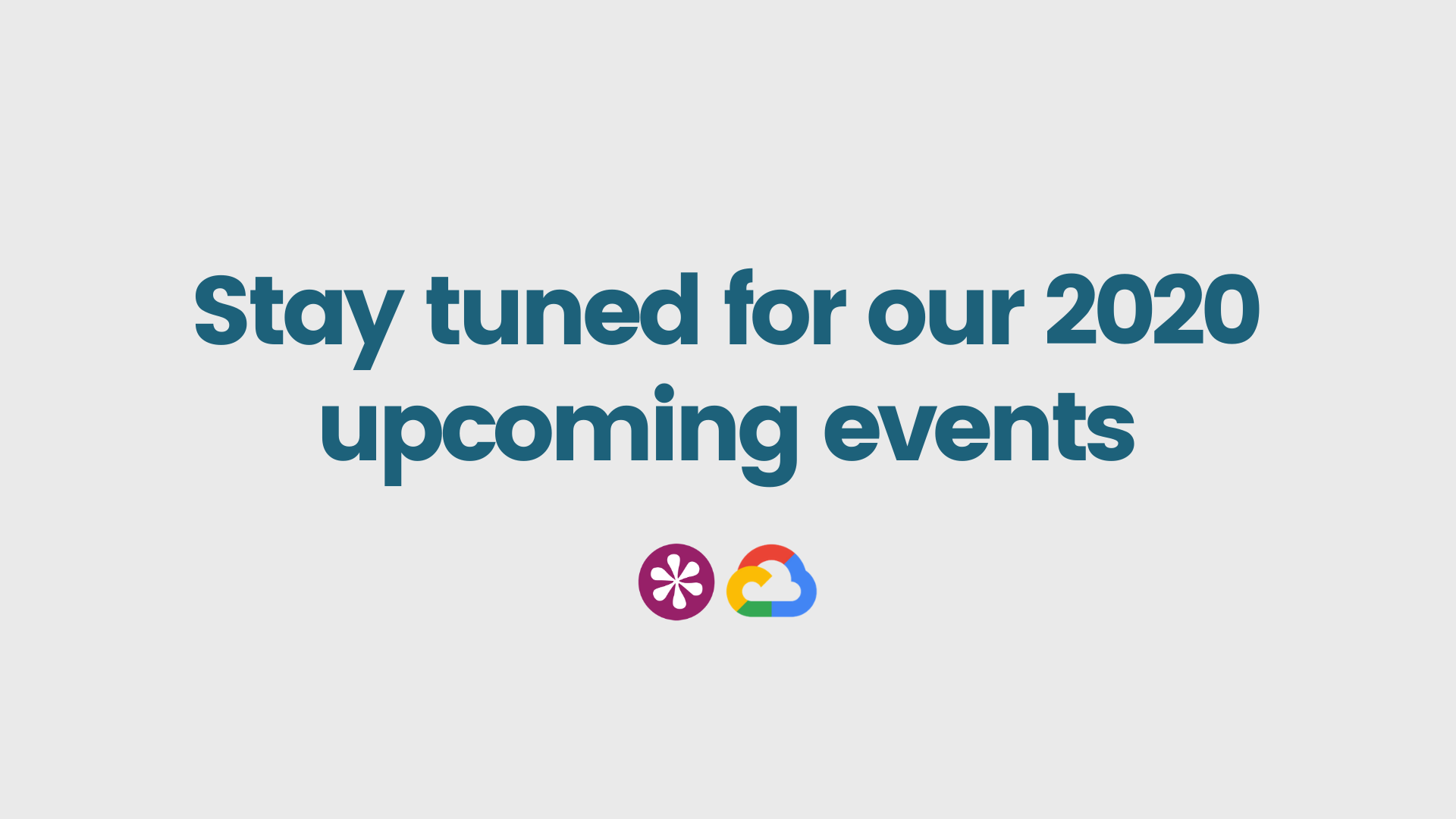 2020 stay tuned event
