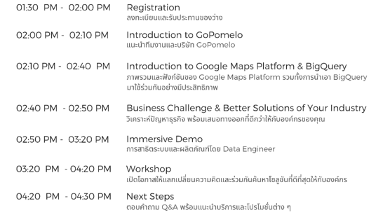 Copy of T05-09-19 Improve Your Business Logistics with BigQuery And Google Maps