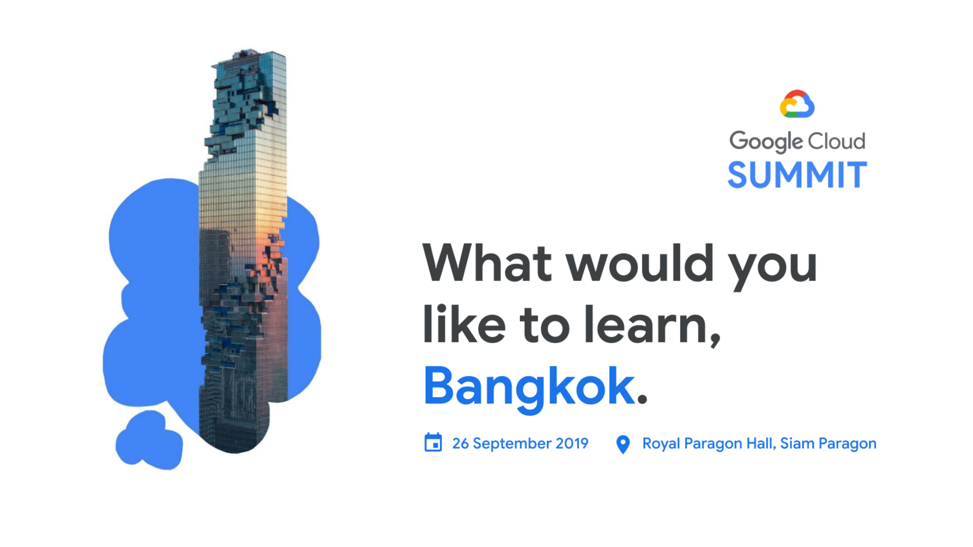 Google Cloud Summit Bangkok - Thumbnail