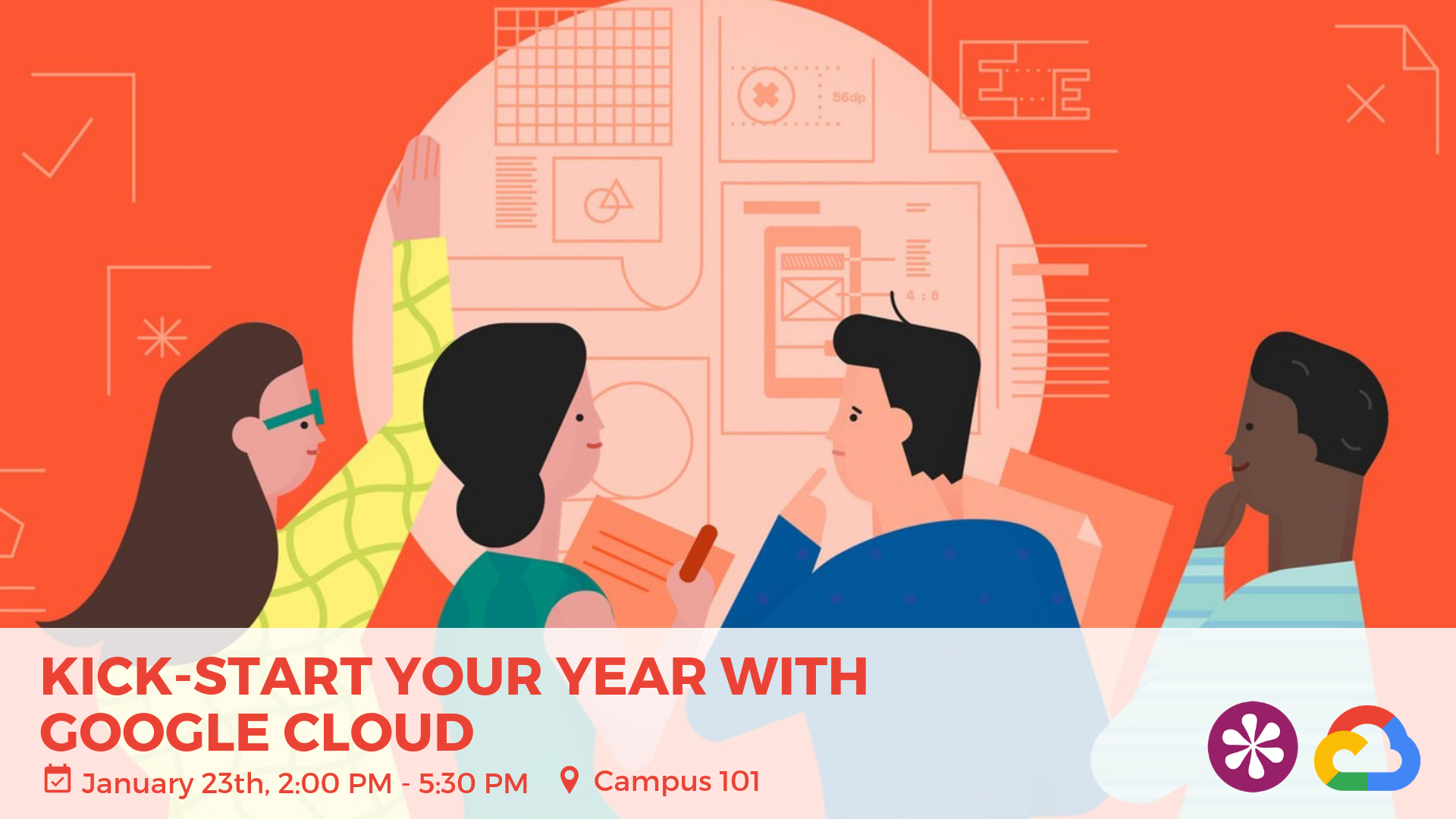 Kick start your year with Google Cloud - Website
