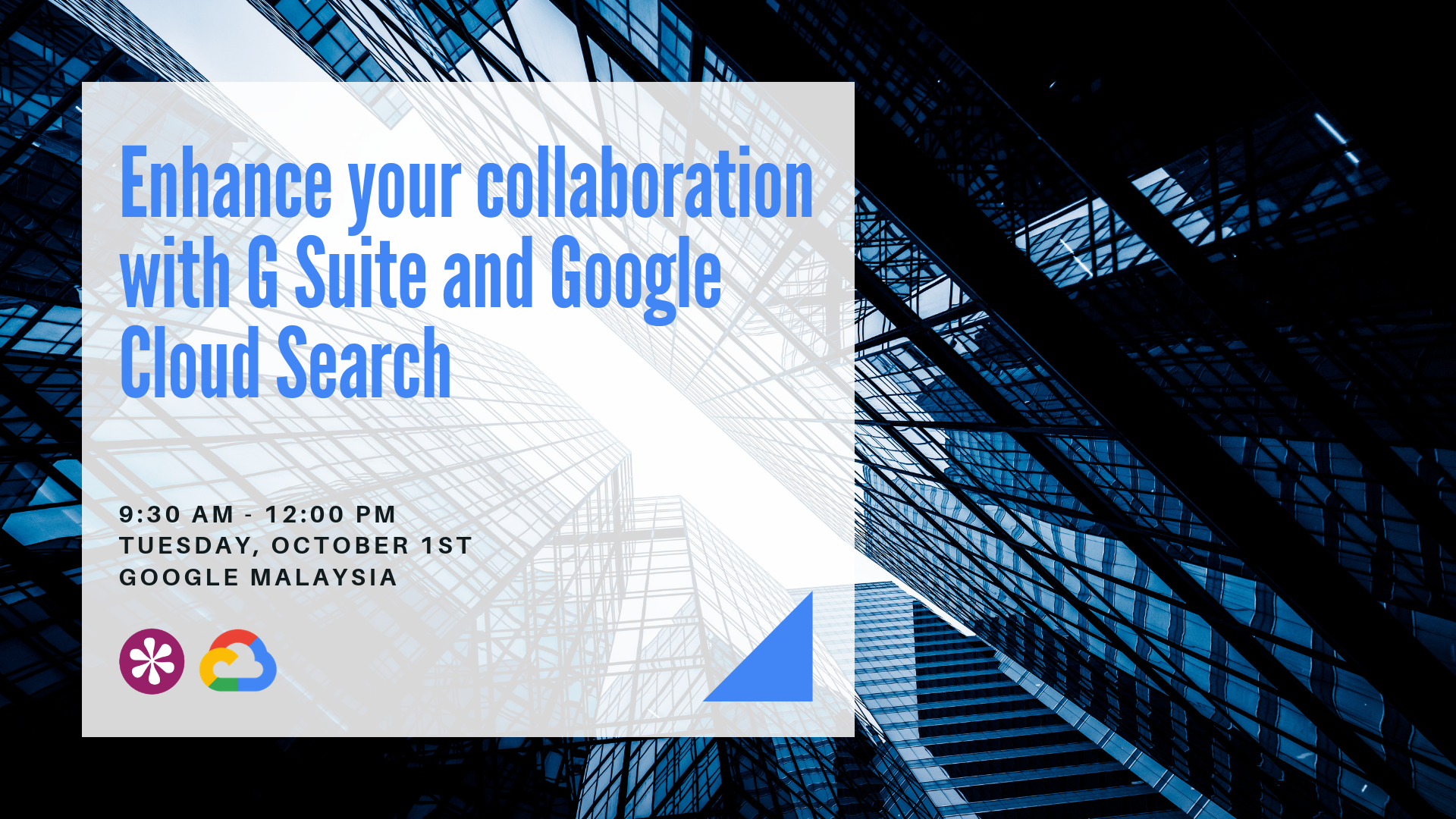 M01-10-19 Enhance your collaboration with G Suite and Google Cloud Search