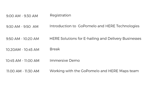 M29-10-19 Get Your E-hailing & Delivery Businesses on the right track with HERE Agenda (1)