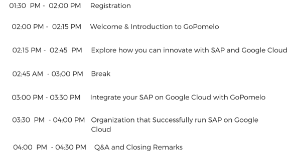 T04-09-19 Innovate your business with SAP on Google Cloud