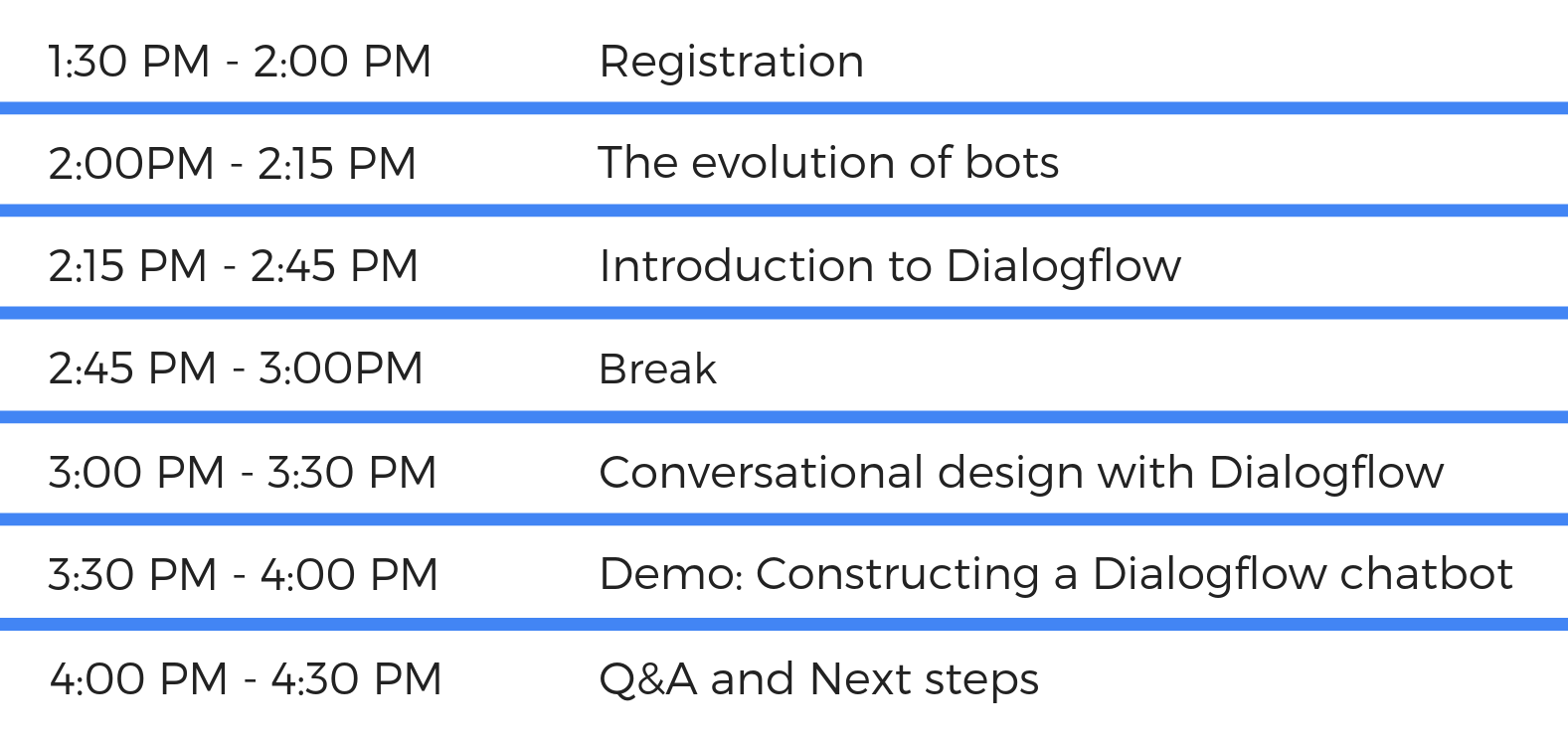 Chatbot with Google's Dialogflow | Join us at Google Thailand