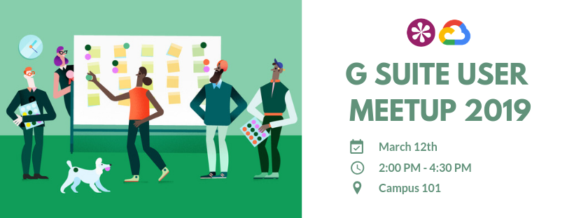 T12-03-19 G Suite User Meetup 2019 - email