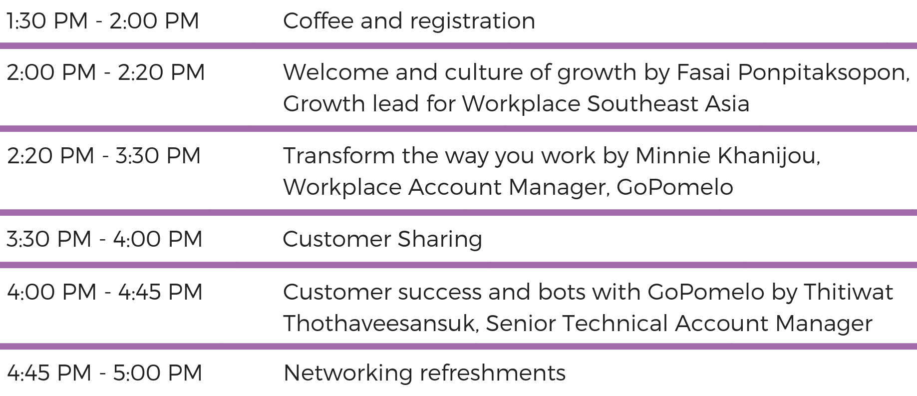 TRANSFORM THE WAY YOU WORK WITH WORKPLACE BY FACEBOOK - Agenda-2