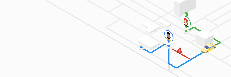 Google Maps Ridesharing