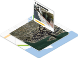 Google Maps location visualization