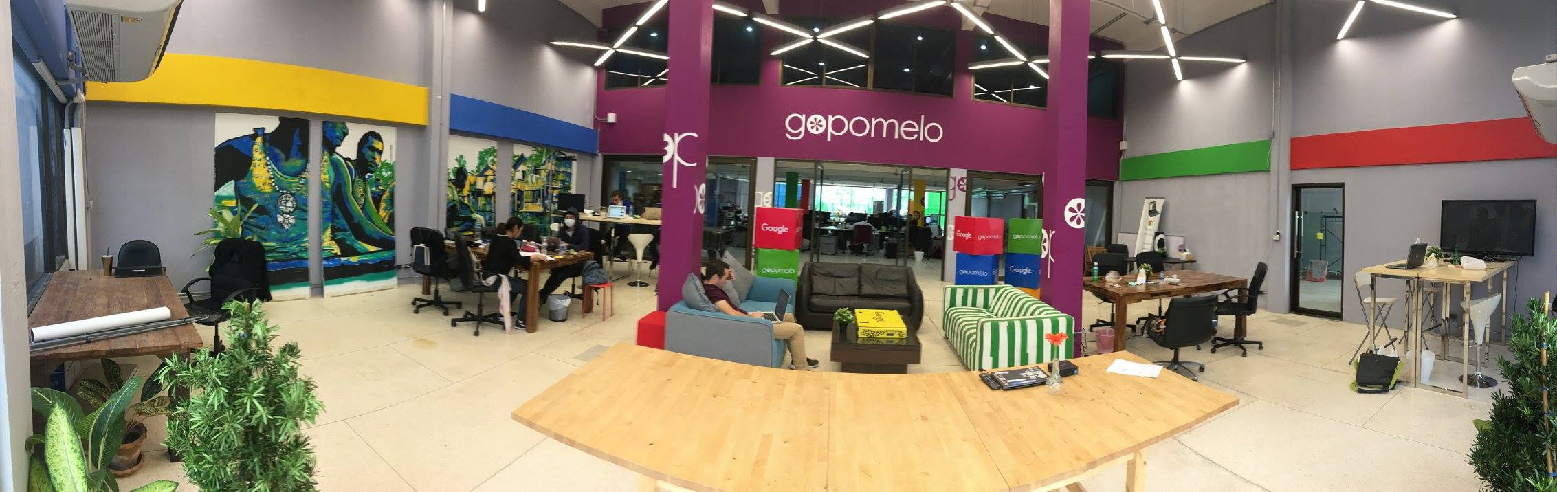 GoPomelo area