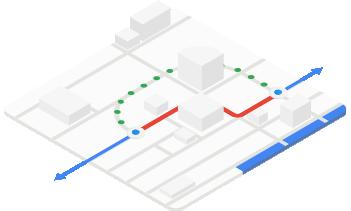 Google Maps routing optimization