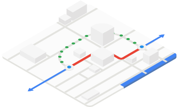 Google Maps routing optimization