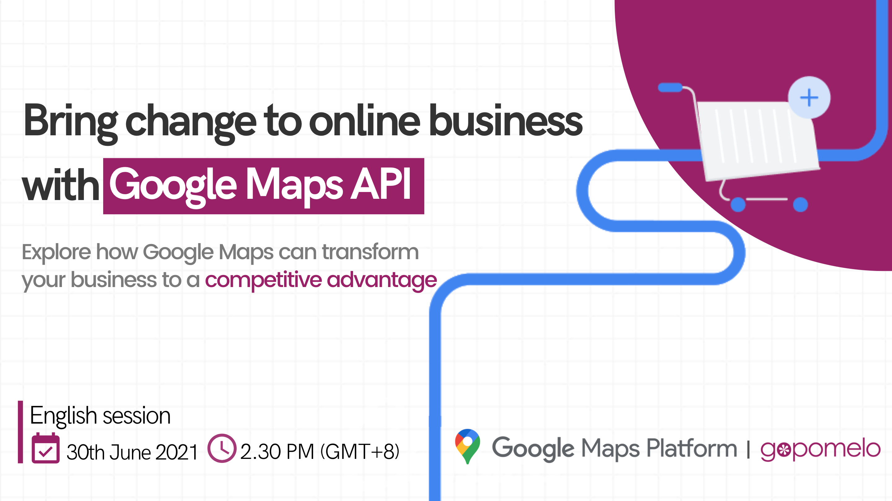 Maps for online business